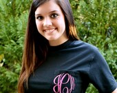 MONOGRAMMED Pocket Tees-Available in Sizes S-XXL