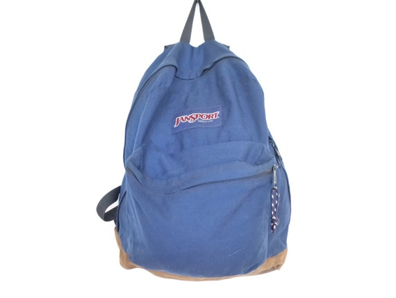 Vintage Backpack 90's Suede Bottom Jansport Backpack