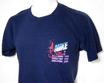 Vintage Nike Color Splat T-Shirt Sz.M 1980's