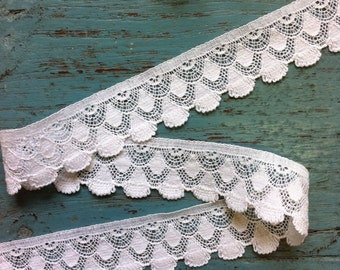 White Cotton lace trimmings