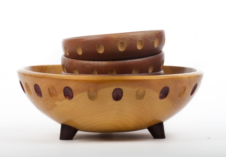 Baribocraft wooden salad bowl