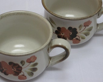 """Two Denby """"Serenade"""" Cups"""