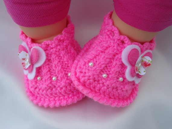 Baby Shoes Girl Baby Shoes Baby Slippers Crochet Baby Shoes