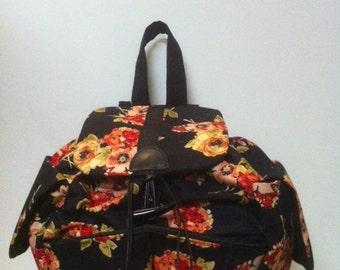 Vintage Floral Backpack