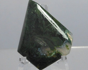 Green Moss Agate Cabochon ID-1305100003