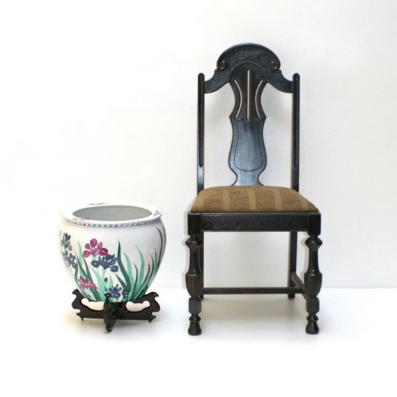 Fish bowl lacquer wood stand planter chinese by realgoodworks for Fish bowl stand