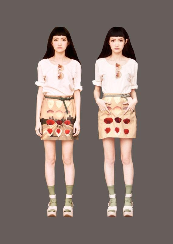 FABITORIA digital printed skirt - 11