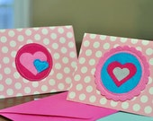 Happy Heart Valentine Cards