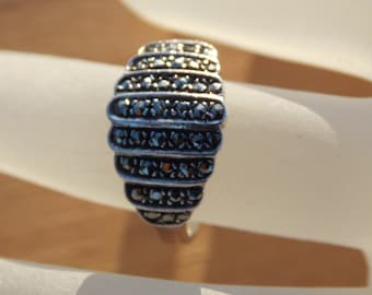 Sale Vintage Marcasite Ring Size 6