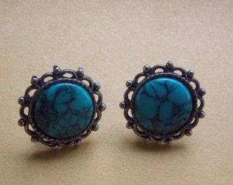 Vintage Sancrest Clip On Earrings