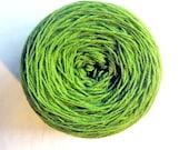 FREE SHIPPING WORLDWIDE Kauni Light Green Wool 8/3 Yarn 3ply Estonian Lawngreen Chartreuse Lettucegreen