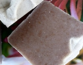 Homemade Honeysuckle Soap, 4.5-5 oz., Natural Vegan Soap, Heavenly Honeysuckle