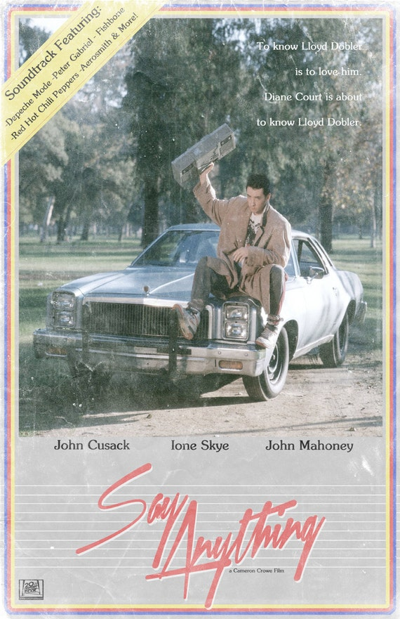 say anything 11x17quot movie poster
