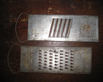 Pair of Bromwell's Metal Graters