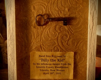 Key used in the escape of Billy The Kid