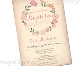... edication, Christening, or Baptism Invitation for boy or girl