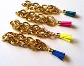 Wrist Soiree: Tassel Bracelets