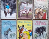 Horses and Adventure - Lot of 12 Classic Teen Books - Winter Pony, Summer Pony, Blind Colt, Vicki and Black Horse, Jumping Jack, Heads Up