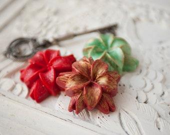 Poinsettia Soap