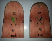 2 clocks for 30 pounds for Mrs Mori