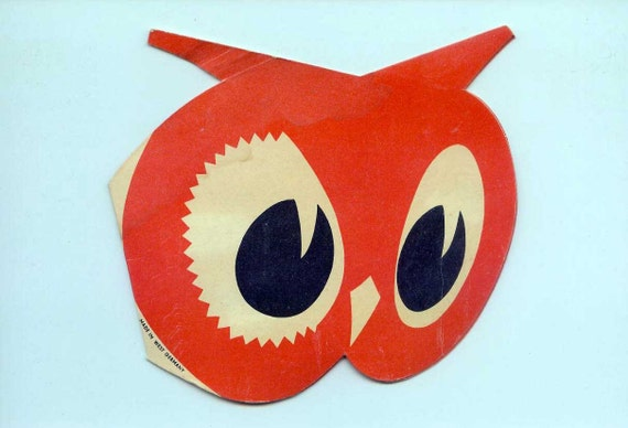 1940s Red Owl Needlebook Advertising Needlecase Vintage Sewing Collectible West Germany