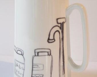 water jug (1pint)