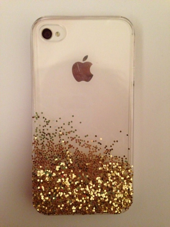 Iphone 5s Gold Glitter Case Glitter Iphone 5 Case Gold