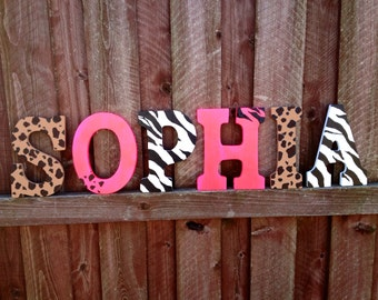 Wall decor letters for nursery homes decoration tips for Baby name decoration ideas