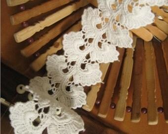 Cotton Lace Trim, guipure cotton lace trim CMSR31B