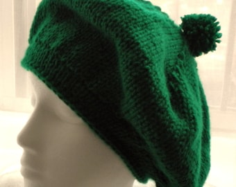 Buttercup Beret Knitting Pattern : Crochet CLOCHE HAT PATTERN with Flower