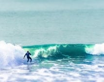 """Surf Photography, Ocean Photography, 8x10 Print, Surfer Photography, Surfing, California, Los Angeles, """"Wave Catcher"""""""