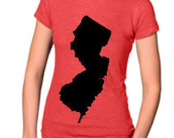 Pick your Town New Jersey Screenprinted Shirt