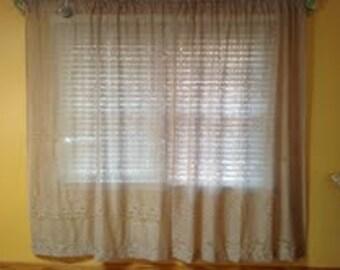 Tan Lace Panels