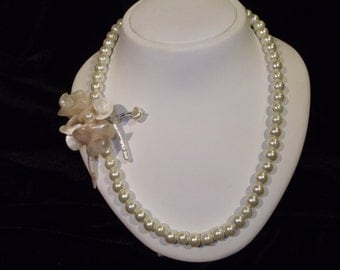 Bridal Jewelry, Bridal Pearl Necklace, Wedding Pearl Necklace, Pearl Necklace, Wedding Jewelry