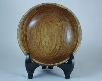 Exotic Wood Bowl - Hand Turned Indian Rosewood