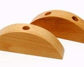 Wood Display for Wine Stopper - Choose One Hole or Two Hole Display