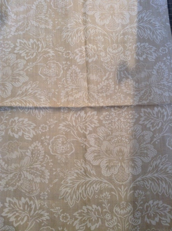 French Country Shabby Chic Linen Fabric By Cowtan And Tout