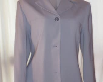 MEXX light grey casual jacket.  Size 12, lined