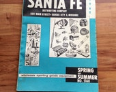 Vintage Sant Fe Distributing 1960 Sporting Good Catalog Fishing Hunting