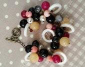 Stone Bracelet - Handmade Jewelry - Jewelry bracelet B010