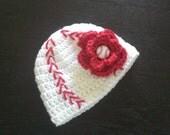 Baseball Baby Gir Hat