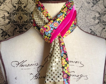 "Girls Multi-Colour Scarf. This Design is Called the ""Brooke"""