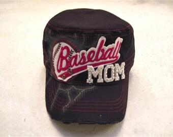 "Baseball Mom Cap "" Team Spirit """