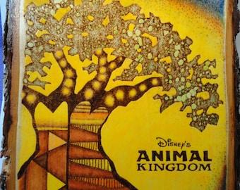 Disney's Animal Kingdom Wood Burning