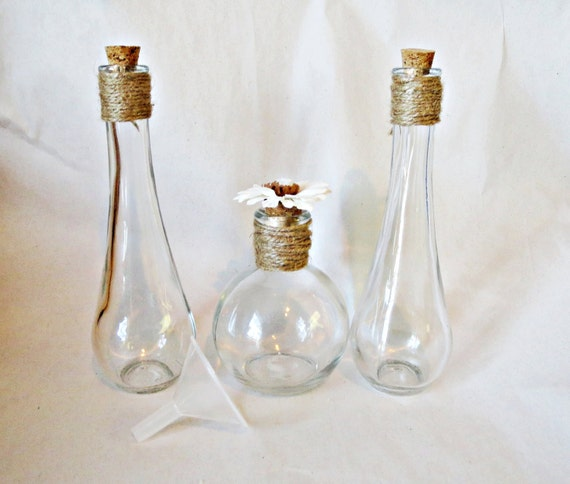 Items Similar To Rustic Theme Round Vase And Wedding Unity Sand Ceremony Collection Set 3 Glass