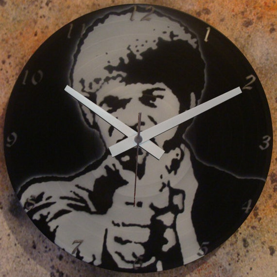 Items Similar To Pulp Fiction 3a Or 3b Wall Clock Lp