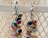 Waterfall-Style Wire Wrapped Earrings: MADE TO ORDER