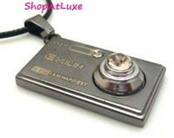 Digital Camera Pendant And Necklace