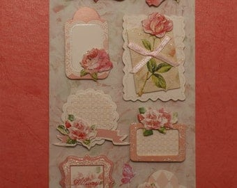 3D Stickers -  Scrapbooking, Card-making