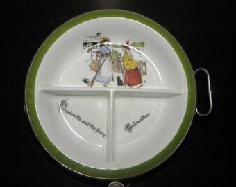 Early Cinderella Divided Baby Dish/Bowl